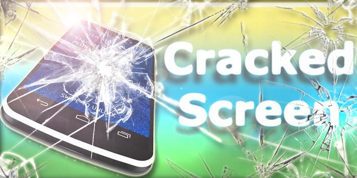 Cool Broken Screen poster