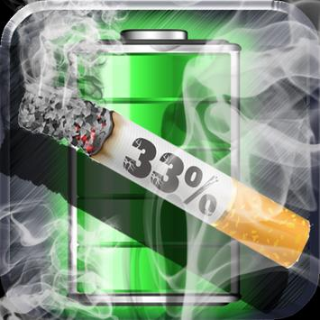 Cigarette Battery Widget screenshot 1