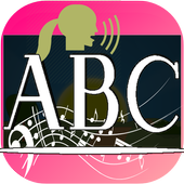 ABC learning with ABC song icon