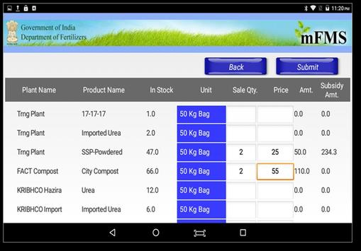 DBT Fertilizer screenshot 5