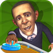 Air Hockey Supervisor Obama icon