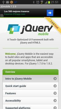 jQuery mobile 1.2.0 Demos&docs poster