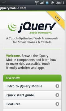 jQuery mobile 1.0.1 Demos&Docs poster