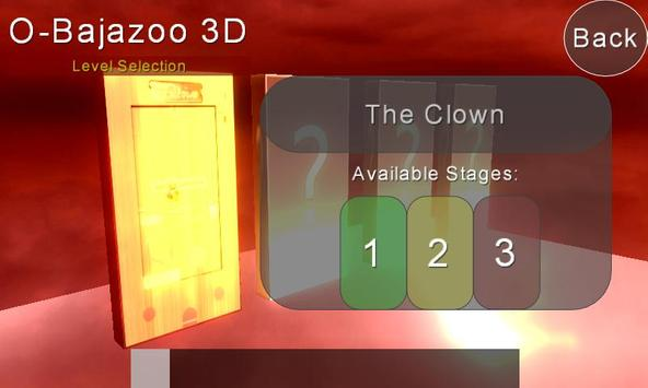 O-Bajazoo 3D HD The Clown Free screenshot 1