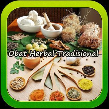 Resep Obat Herbal Tradisional poster