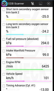 OBD2 scanner bluetooth Elm327 screenshot 5