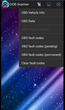 OBD2 scanner bluetooth Elm327 screenshot 1