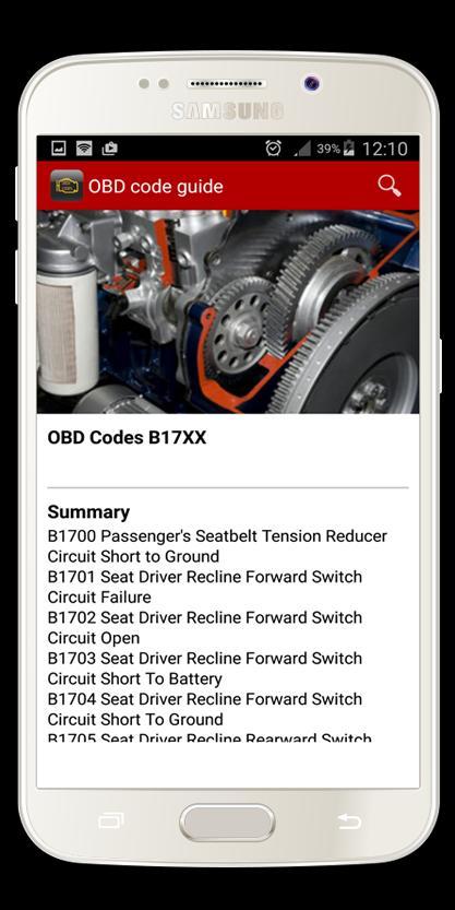 اكواد ورموز اعطال السيارات Obd For Android Apk Download