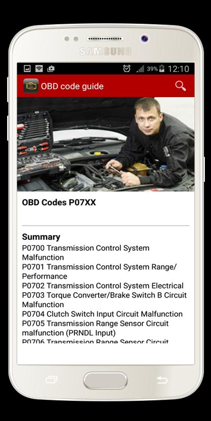 OBD Code Guide for Android - APK Download