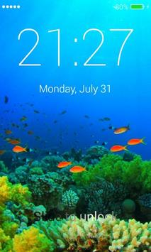 Coral Lock Screen screenshot 1
