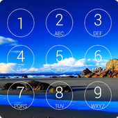 Beach App Lock Screen icon