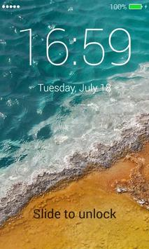 Beach App Lock Screen screenshot 2