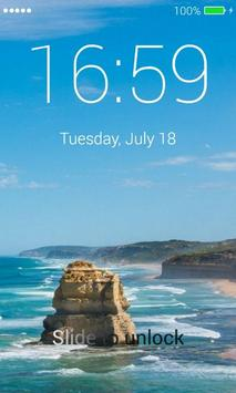 Beach App Lock Screen screenshot 3