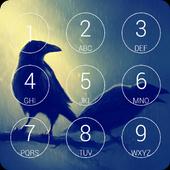 Black Raven Lock Screen icon