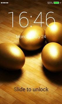 Gold Lock Screen screenshot 1
