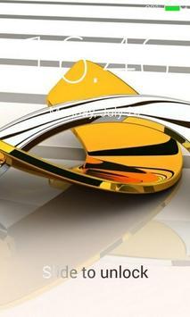 Gold Lock Screen screenshot 4