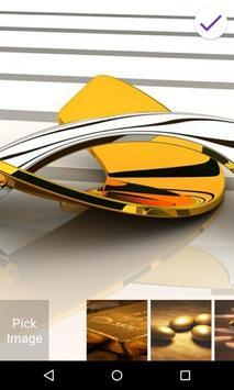 Gold Lock Screen screenshot 5