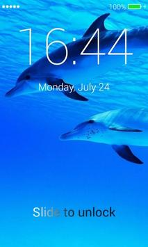 Dolphins Lock Screen poster