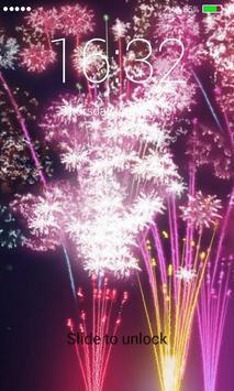 Firework Lock Screen Pro apk screenshot