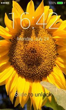 Sunflowers Lock Screen poster