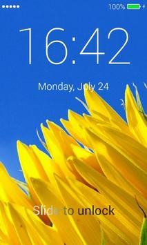 Sunflowers Lock Screen screenshot 1