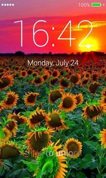 Sunflowers Lock Screen screenshot 3
