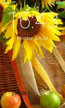 Sunflowers Lock Screen screenshot 4