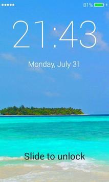 Paradise Lock Screen screenshot 2