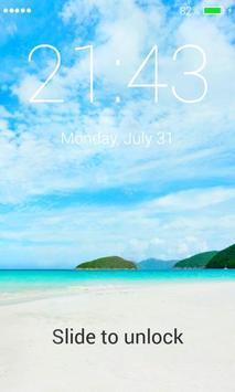 Paradise Lock Screen screenshot 3
