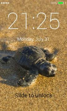 Turtle Lock Screen poster