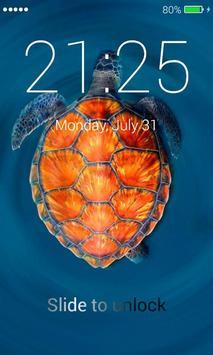 Turtle Lock Screen screenshot 1