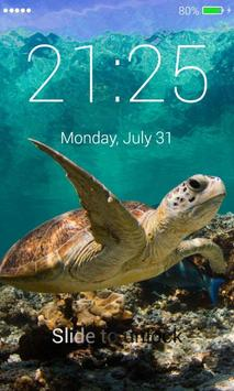 Turtle Lock Screen screenshot 2