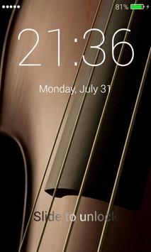 Violin Lock Screen apk screenshot