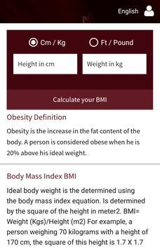 Obesity Egypt apk screenshot