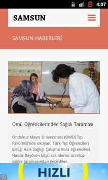 Samsun Haber apk screenshot