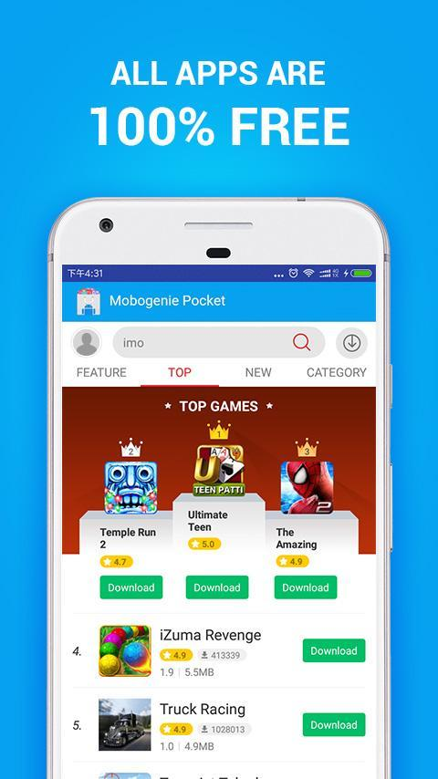 Android apps download apk: mobogenie market apk latest version.