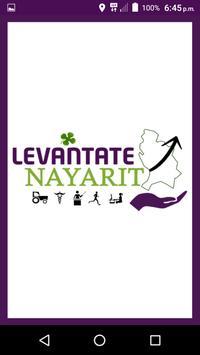 Levántate Nayarit poster