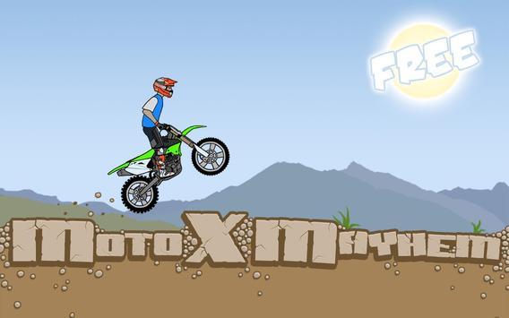 Moto X Mayhem Free poster