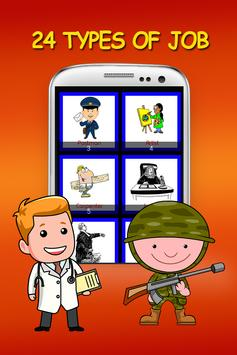 Occupation Learning For Kids poster