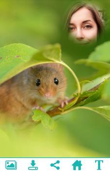 Cute Mouse Photo Frame apk screenshot
