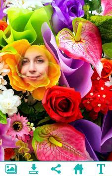 Colorful Flower Photo Frame apk screenshot