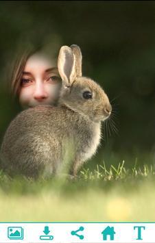 Cute Rabbit Photo Frame apk screenshot