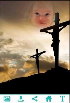Cross Photo Frame poster