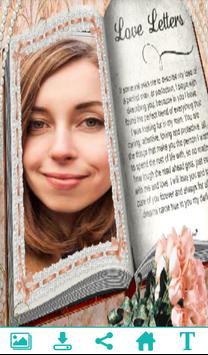 Amazing Book Photo Frame apk screenshot