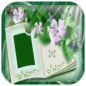 Beautiful Book Photo Frame icon