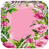 Beautiful Flower Photo Frame icon