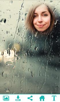 Beautiful Rain PhotoFrame poster