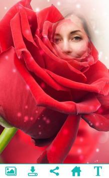 Rose Photo Frame poster