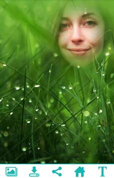 Green Grass Photo Frame apk screenshot