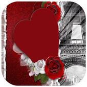 Beautiful Heart Photo Frames icon